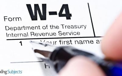 IRS Releases Reworked Form W-4Taxpayers with Significant Tax Debt Could Lose PassportsKnow the…